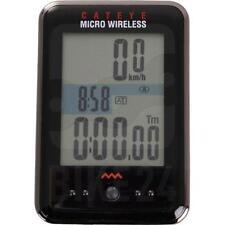 CATEYE MICRO WireLess Cycle Computer Speed Bicycle Bike Cycle BLACK CC-MC200