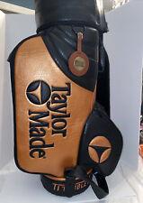 New listing VTG TaylorMade Burner TI Bubble 2 Staff Tour Golf Bag Black Copper Rare