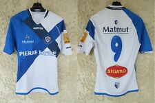 Maillot rugby CASTRES OLYMPIQUE 2014 2015 porté n°9 KIPSTA worn shirt M/L