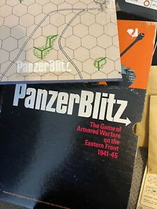 Panzer Blitz WWII 1941-1945 Avalon Hill Table Game Lightly Used