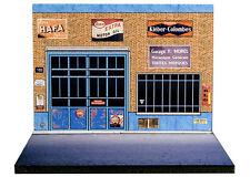 Diorama présentoir Garage F. Morel - 1/43ème - #43-2-A-A-006