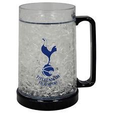 Tottenham Hotspur FC Congelatore TAZZA TANKARD ICE COLD BEER BERE Bicchiere Nuovo Regalo di Natale