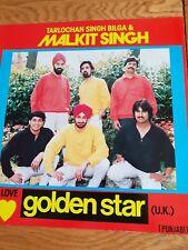 MALKIT SINGH ' GOLDEN STAR ' RARE LP VINYL -  BHANGRA / PUNJABI