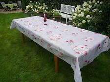 Tischdecke Provence 150x300 cm grau aus Frankreich, pflegeleicht, bügelfrei