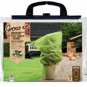 Gardman Medium Fleece Plant Warming Frost Protection Cover Jackets x3