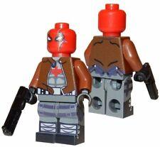 **NEW** LEGO Custom Printed RED HOOD - Jason Todd - DC Universe Robin Minifigure