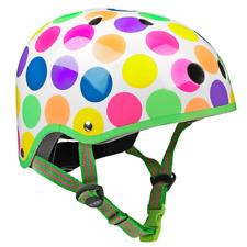 Micro Kids Helmets Neon Dots Helmet Medium (53-57cm)