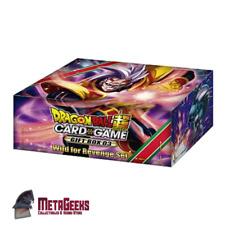 Dragon Ball Super Card Game Gift Box 03 Wild for Revenge New & Sealed
