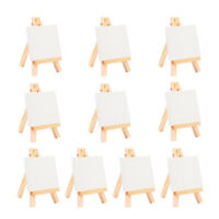 10pcs Wooden Display Easel Art Supply Tabletop Name Card Display Easel