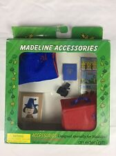 "Madeline Accessories for 8"" doll Luggage, Camera, Passport 1997 Eden 33396"
