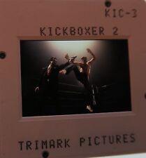 KICKBOXER 2 CAST Sasha Mitchell Peter Boyle Dennis Chan 1991 ORIGINAL SLIDE 2