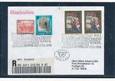 Christkindl-Reco Brief 27.11.1998, Ersttag    (CH12)