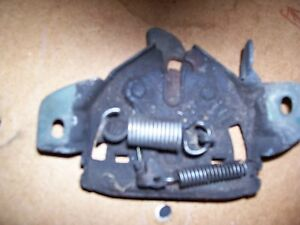 GEO TRACKER SUZUKI SIDEKICK HOOD LATCH 89-98 MODELS RELEASE MECHANISM LOCK
