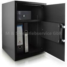 Bituxx Möbeltresor Wandtresor Tresor Safe Schranktresor elektronisch Schwarz