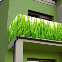 Balkon Sichtschutz Windschutz 5,0x0,9m Motivauswahl - Jede GrÖße ... Balkon Sichtschutz Moglichkeiten