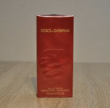 DOLCE & GABBANA RED CLASSIC EDT 100ml., DISCONTINUED, RARE, NEW IN BOX, SEALED