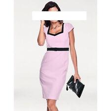 Etuikleid Designer Kleid  von Ashley Brooke Größe 42 NEU rose