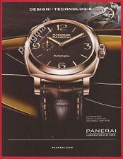 PANERAI Radiomir 1940 watch Print Ad