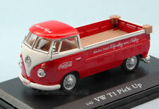 Volkswagen VW T1 Pick Up 1962 Red / White Coca Cola 1:43 Model