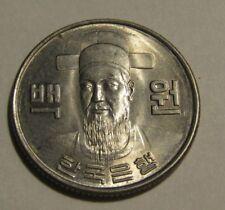 South Korea 1973 100 Won AU Coin