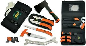 Outdoor Edge Outfitter, 9 Piece Hunting & Game Processing Knife Set,  OF-1