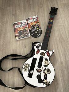 Guitare Guitar Hero Guibson Les Paul +Jeu Rockband Green Day Nintendo Wii -Wii U