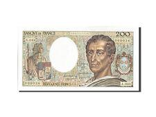 Billets, France, 200 Francs, 200 F 1981-1994 ''Montesquieu'', 1987 #208673