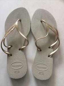 Havaianas EUR 39/40, Flip-flops, Gold, neu ohne OVP