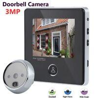 3MP TFT Digital Peephole Viewer Campanello schermo LCD + Videocamera HD Security