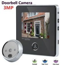 3MP TFT Digital Peephole Viewer Campanello schermo LCD + Videocamera HD Security