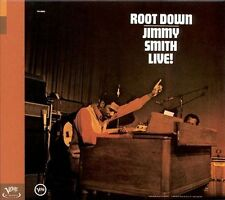 💿-JIMMY SMITH-ROOT DOWN LIVE! (VERVE!) [BONUS TRACK] BEST SOUL JAZZ ORGAN CD!