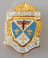 Ards Bowling Club Badge Pin Rare Vintage UK (M19)