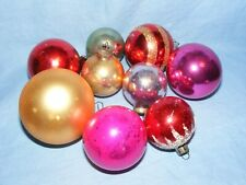 Vintage Glass Christmas Tree Decoration Baubles