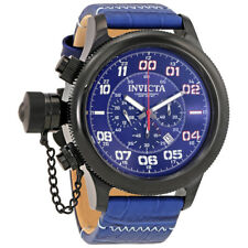 Invicta Russian Diver Chronograph Blue Dial Mens Watch 22290