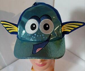 Base Ball Cap Dory's Face, Boys One size, Finding Nemo, Disney, Blue.
