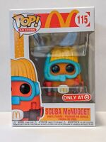 NEW IN BOX Funko POP! Ad Icons: McDonald's - Scuba McNugget TARGET EXCLUSIVE 115