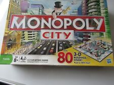 Monopoly City Edition - 3D Buildings - Property Trading Board Game