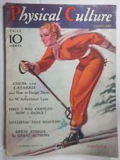 PHYSICAL CULTURE FEB 1932 HAROLD BELL WRIGHT SKIING BRADSHAW CRANDELL COVER