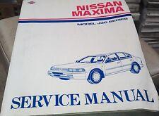 1990 NISSAN MAXIMA J30   -     Factory  Workshop Manual