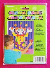 Pin/Stick the Nose On the Clown Game Unique Party Favors #1885 NIP