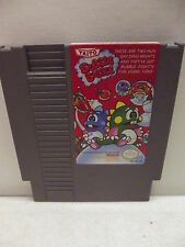 NINTENDO NES BUBBLE BOBBLE GAME CARTRIDGE CLEANED & TESTED