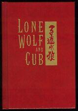 Dark Horse Lone Wolf and Cub Hardcover HC Rare Limited Signed Goseki Kojima art