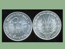 ETATS DE L'AFRIQUE DE L'OUEST  1 franc  1975  (1)   SUP +