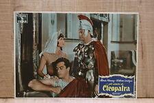 GLI AMORI DI CLEOPATRA fotobusta poster Rhonda Fleming Burr Serpent of Nile B65