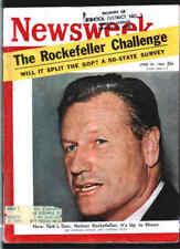 NEWSWEEK J20 1960 ROCKEFELLER-Politics-MARILYN MONROE