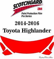 3M Scotchgard Paint Protection Film Pro Series 2014 2015 2016 Toyota Highlander