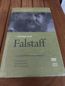 La grande lirica, Giuseppe Verdi, Falstaff, London Philarmonic Orchestra, CD+DVD