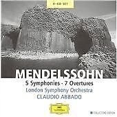Felix Mendelssohn - Mendelssohn: 5 Symphonies; 7 Overtures