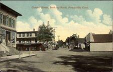 Forestville CT Central Street c1910 Postcard