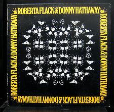 Roberta Flack & Donny Hathaway LP Mint- SD 7216 Stereo USA 1972 Original Press